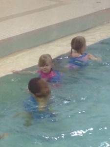 In the Pool with the Other Kids